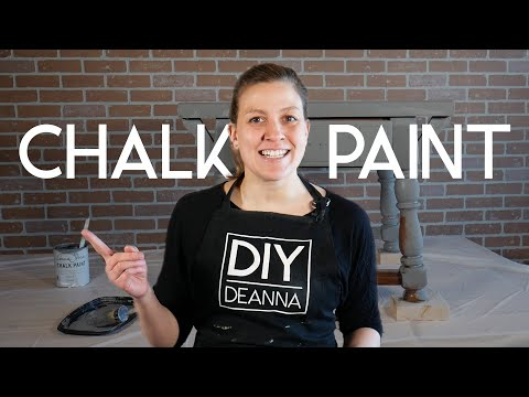 How to Chalk Paint Furniture | Beginners Guide to Chalk Paint & Wax