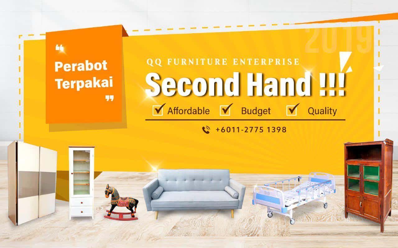 QQ Furniture Banner Second Hand Furniture