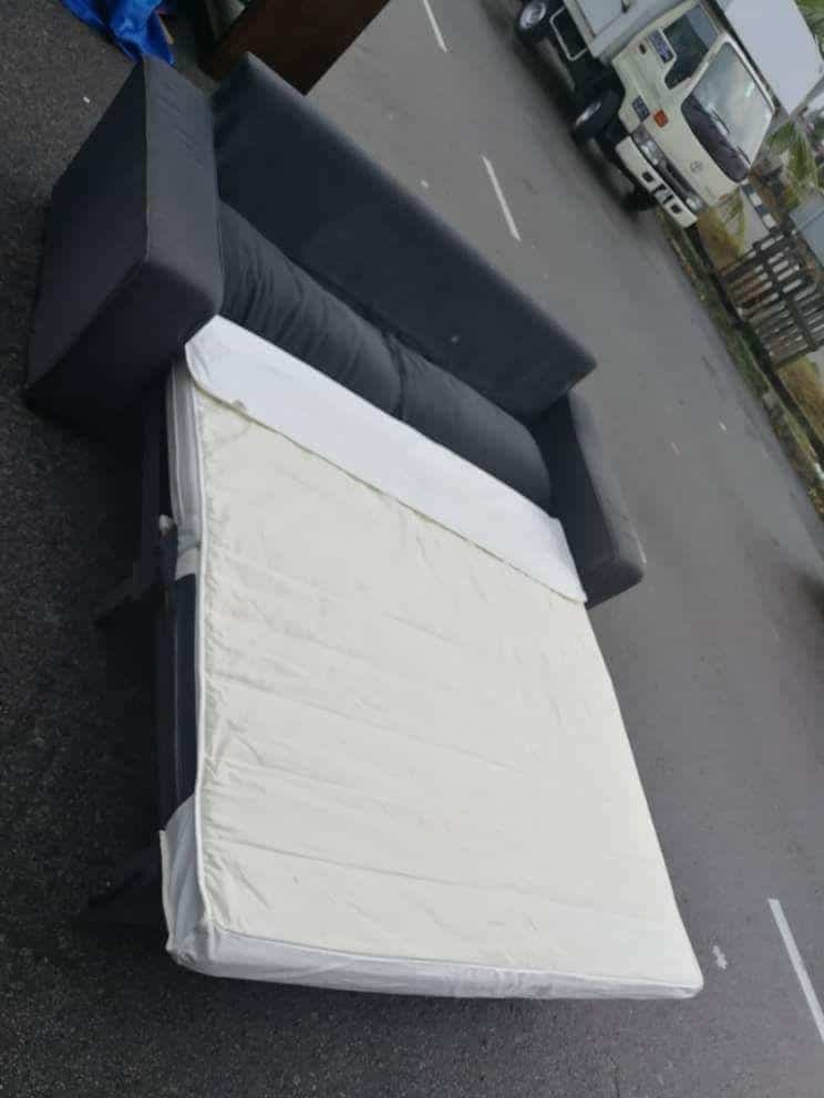 ikea kivik with pull out sofa bed