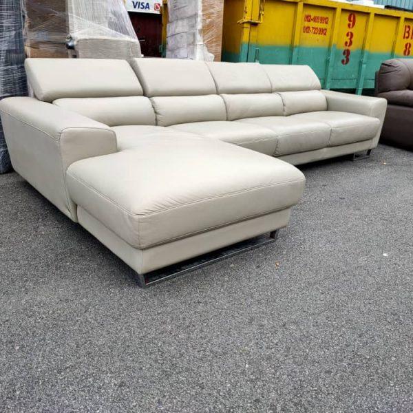 Lorenzo 3+L shape Leather sofa