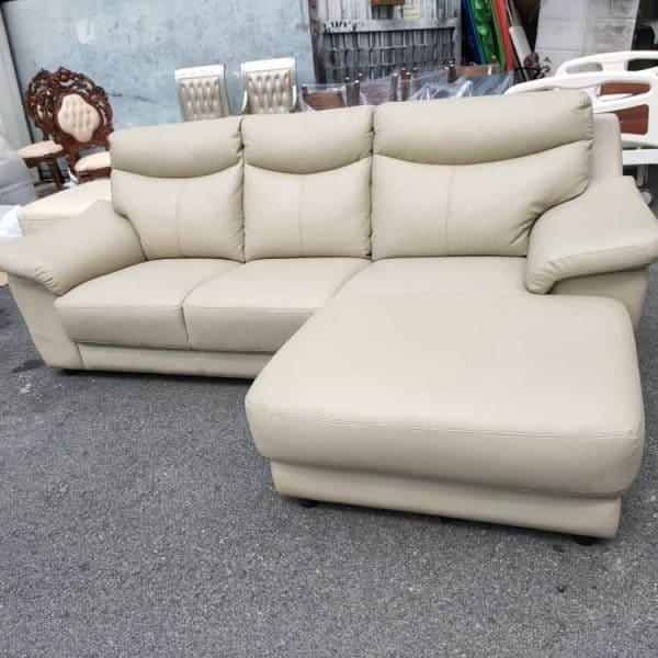 Lorenzo Leather L shape Sofa