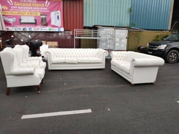Chesterfield Sofa 4+3+1+1 armchair