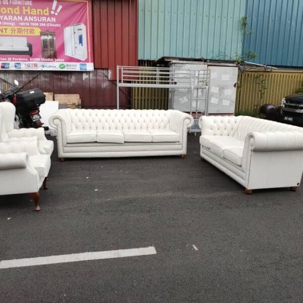 Chesterfield Sofa 4+3+1+1 armchair