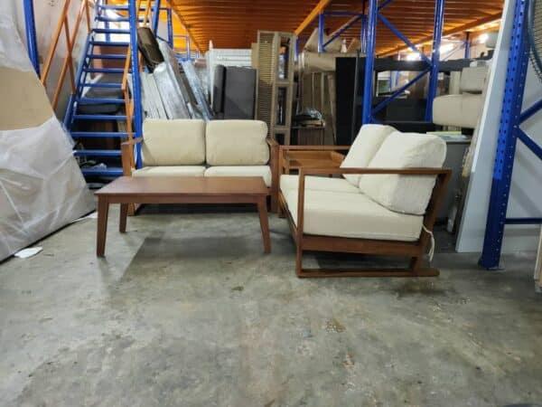 Lorenzo Teak wooden Sofa