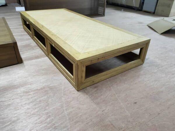 Lorenzo walnut daybed frame