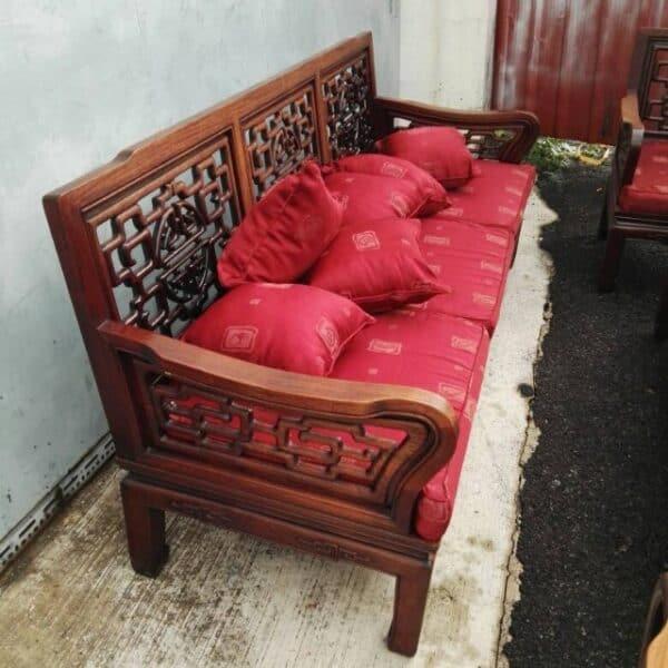 Rosewood 3 seater sofa