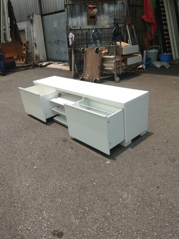 ikea besta burs tv bench white