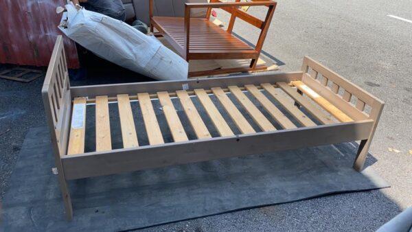 ikea toddler bed wood frame