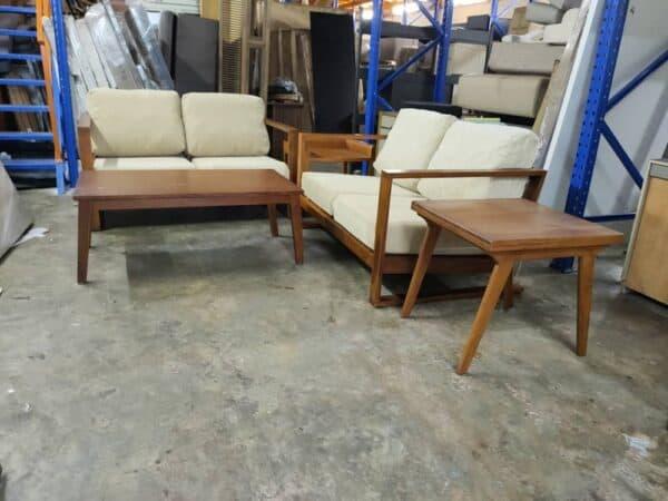 lorenzo teak wood sofa set malaysia