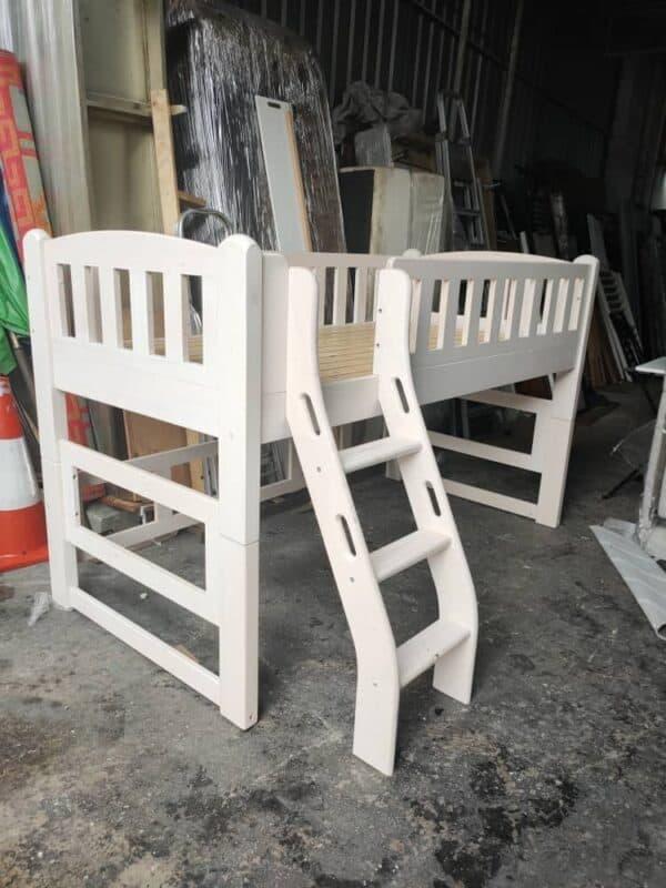pine wooden bed frame
