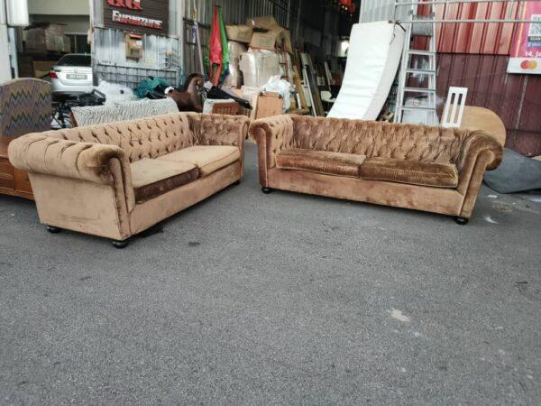 suede fabric sofa set