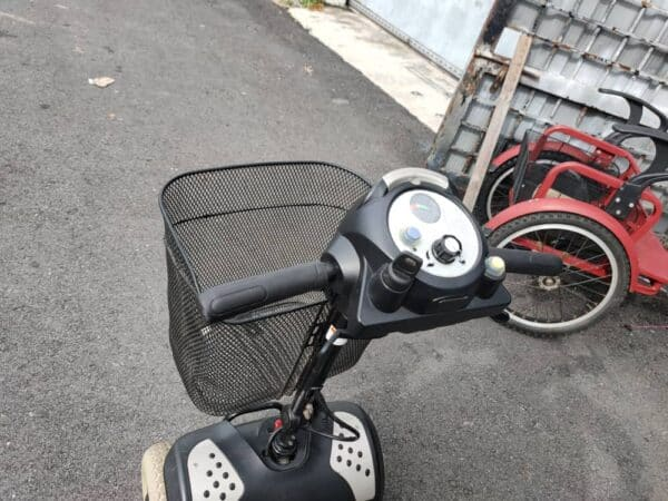 Electric Wheelchairs cum scooter basket