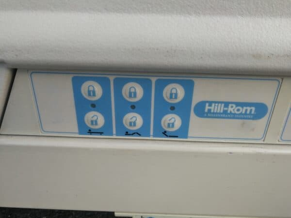 Hill Rom 6 crank hospital bed frame