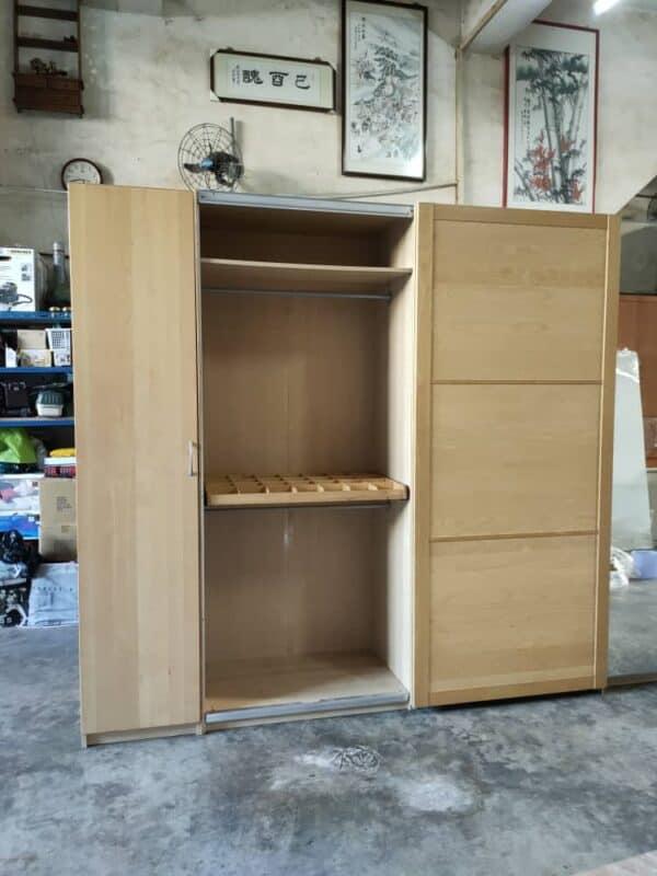 IKEA Sliding Doors Wardrobe with Mirror