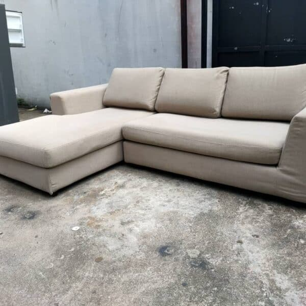 Harvey Norman 2 seater + chaise lounge