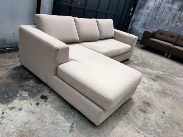 Harvey Norman L shape sofa