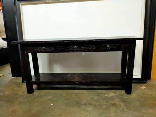 teak wood sideboard with drawers