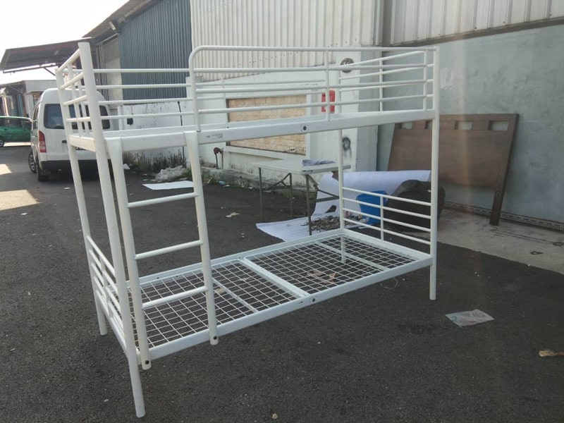 Are bed frames made of hardened steel