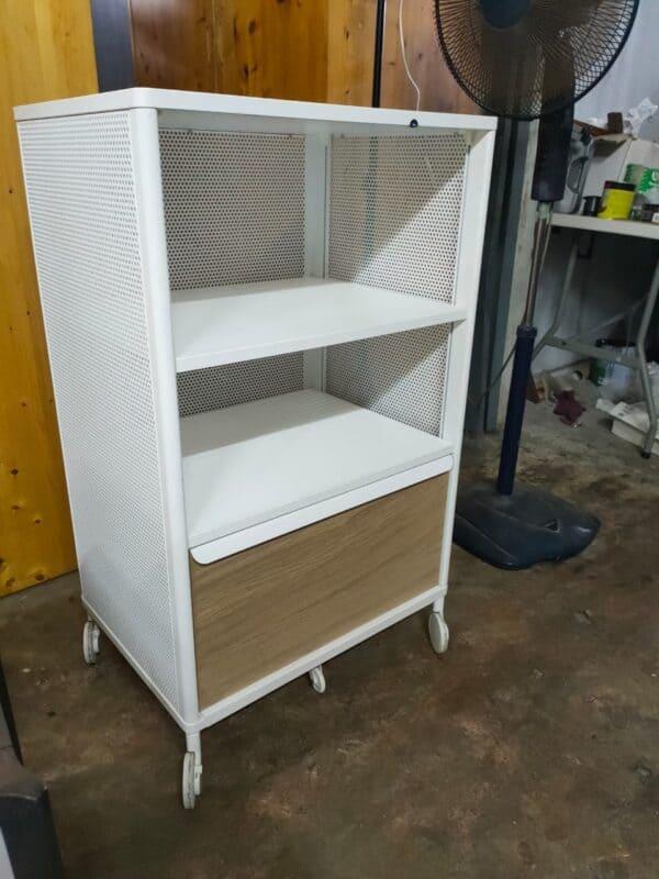 IKEA Bekant Storage Unit with Trolley