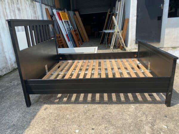 IKEA HEMNES QUEEN BED FRAME IN BLACK