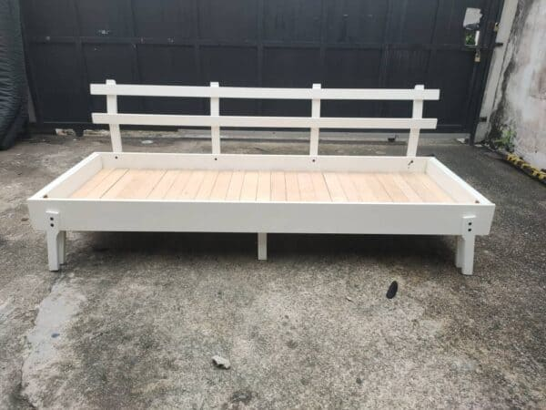 IKEA SOFABED WOODEN FRAME