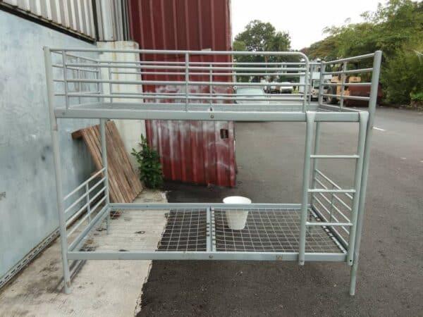 IKEA Svarta Loft Bed Single Metal Bed Frame