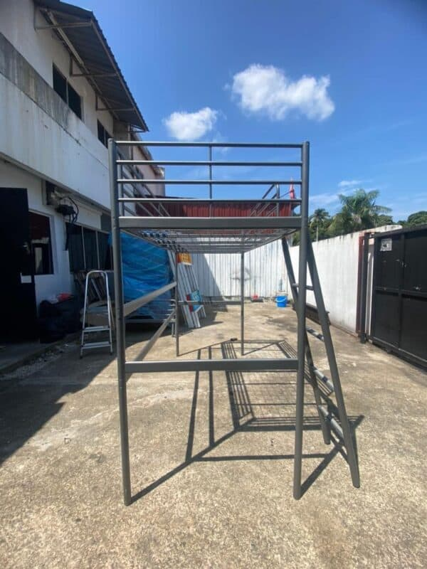 Svarta Loft Bed Single Bed Frame