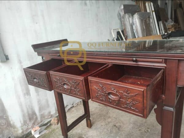 Altar Table and 3 Drawers