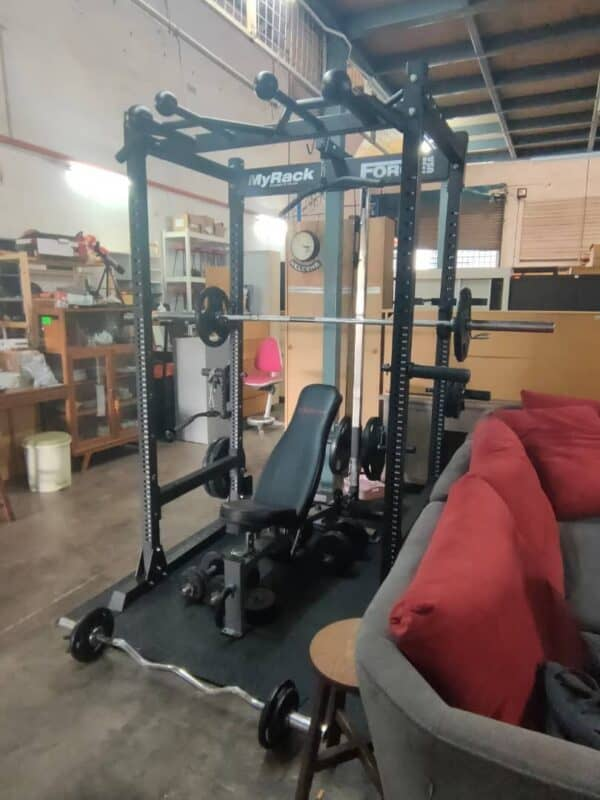Gym Equipment My Rack Force USA second hand