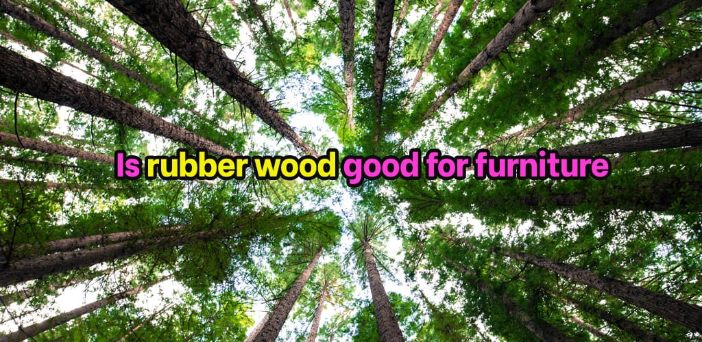 Is rubber wood good for furniture