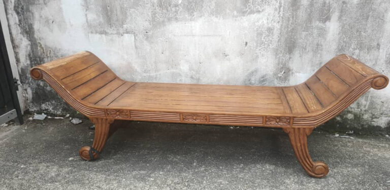 Is teak wood furniture heavy