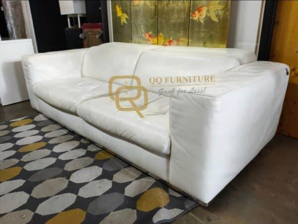 Kelvin Giormani Genuine Leather 3 seater sofa Luxyry Sofa