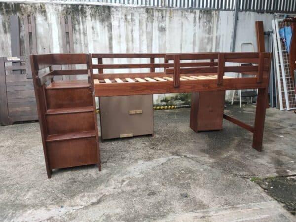 Low Loft Bed Single Bed Frame