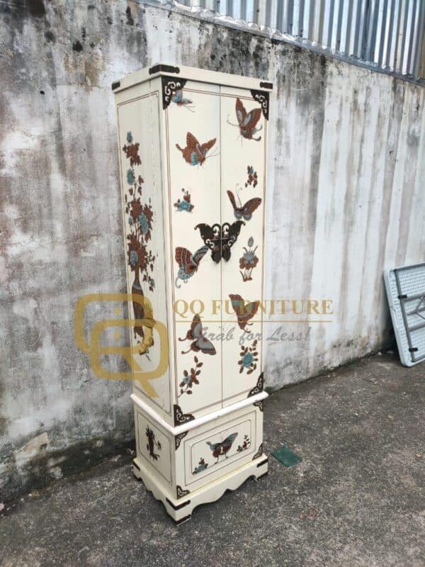 Second Hand Chinese Oriental Wedding Cabinet