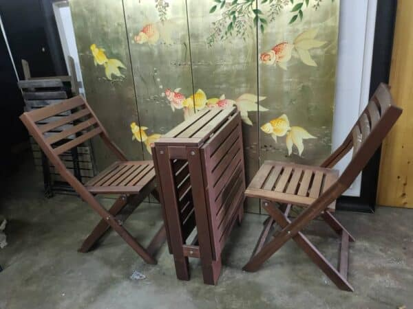 ikea outdoor table and chair